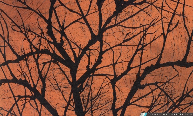 Halloween arbre rampant, Arrière-plans HD à télécharger