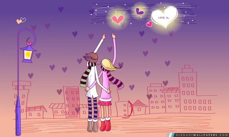 Amour, Arrière-plans HD à télécharger