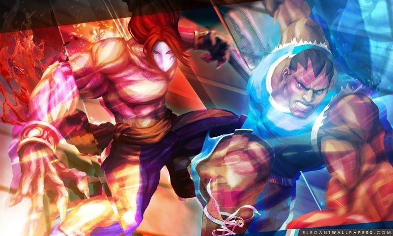 Street Fighter X Tekken – Balrog Vega, Arrière-plans HD à télécharger