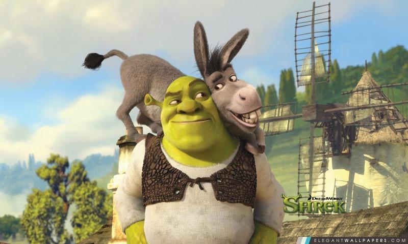 shrek et lne shrek forever after arrire plans hd tlcharger - Shrek Ane
