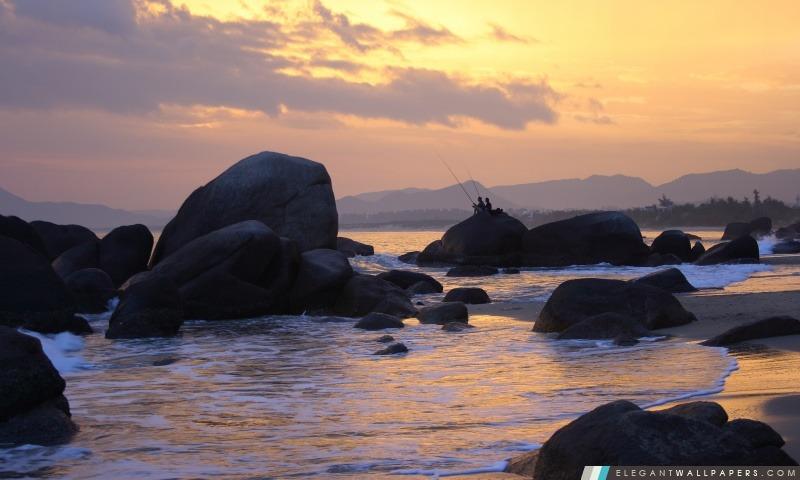 Pêcheurs, Arrière-plans HD à télécharger