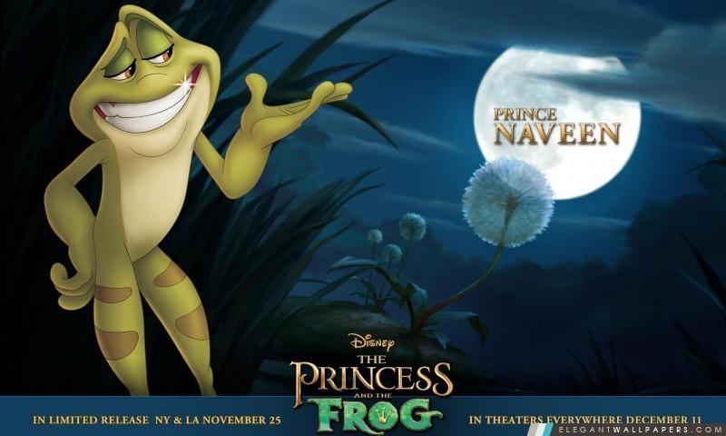 Princesse et le Prince Grenouille Film Naveen, Arrière-plans HD à télécharger