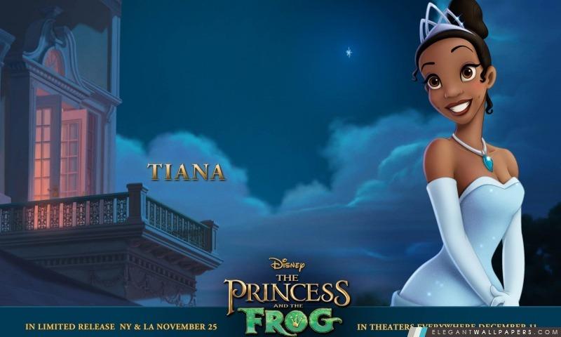 Princesse Et La Grenouille Tiana, Arrière-plans HD à télécharger