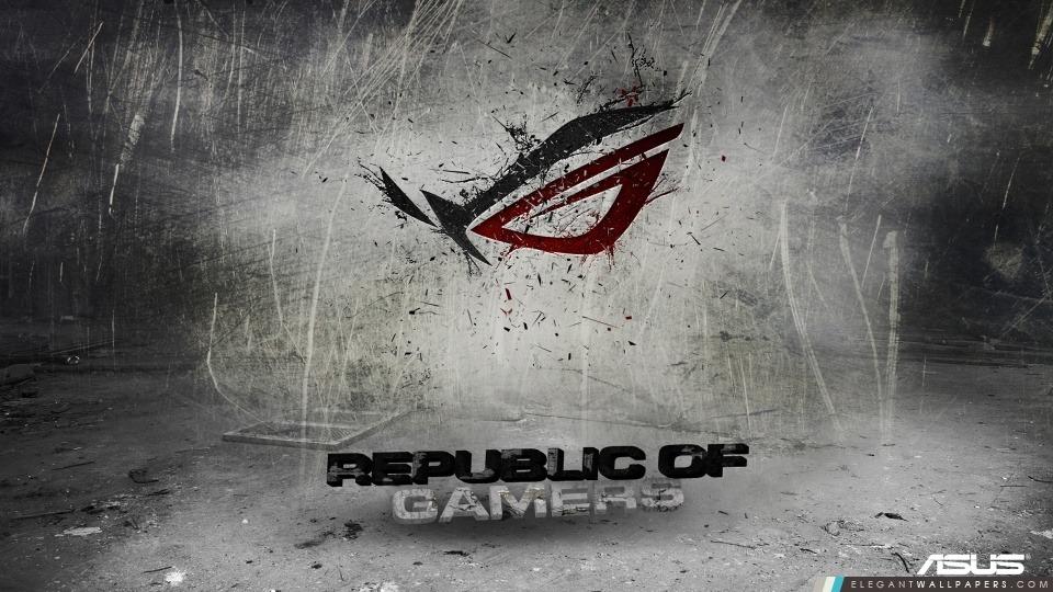 Asus Republic Of Gamers fond, Arrière-plans HD à télécharger
