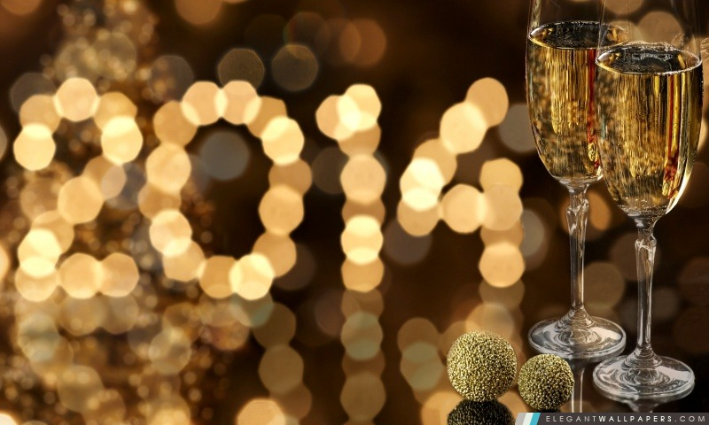 2014 Nouvel An, Arrière-plans HD à télécharger