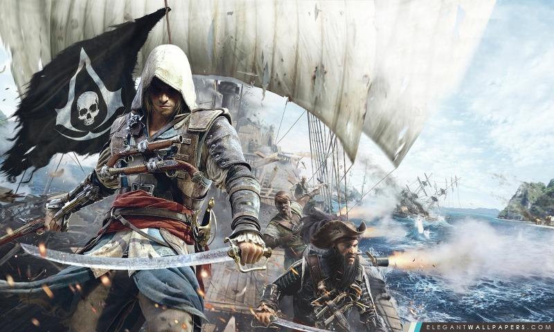 Assassins Creed IV Black Flag, Arrière-plans HD à télécharger