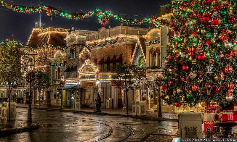 Disneyland Noël, Arrière-plans HD à télécharger