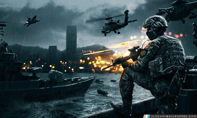 Battlefield 4 siège de Shanghai, Arrière-plans HD à télécharger