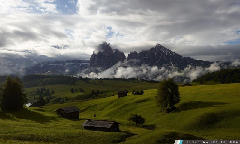 Beau paysage de montagne, Arrière-plans HD à télécharger