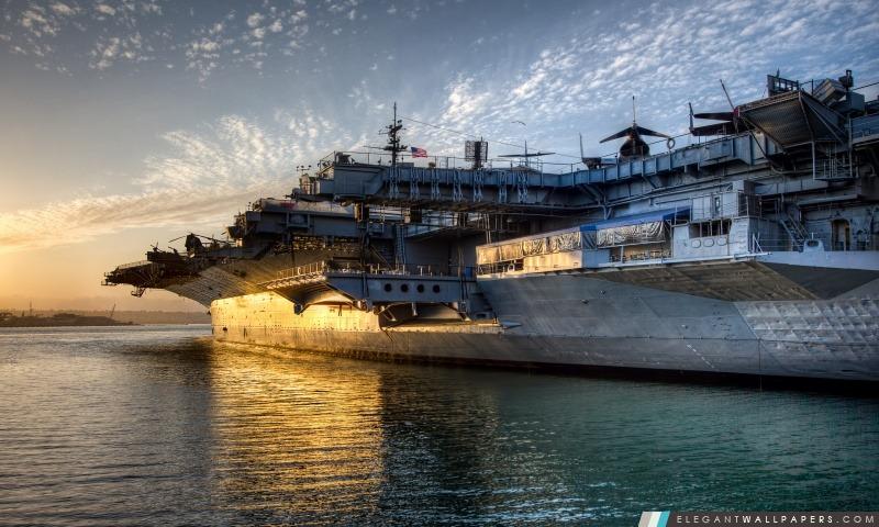 USS Midway, Arrière-plans HD à télécharger