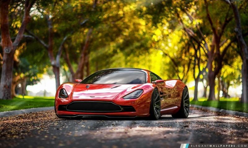 Aston Martin DBC 2013 Concept, Arrière-plans HD à télécharger