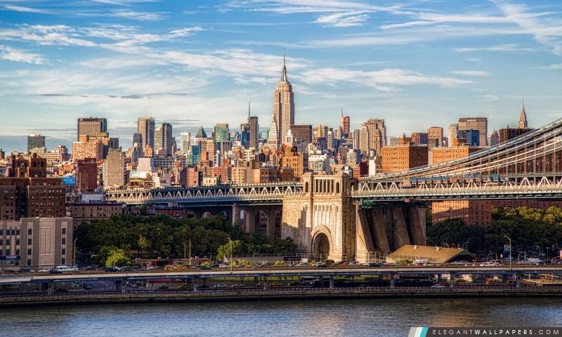 Midtown Manhattan, Arrière-plans HD à télécharger