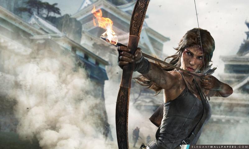Tomb Raider Definitive Edition pour Xbox One et PS4, Arrière-plans HD à télécharger