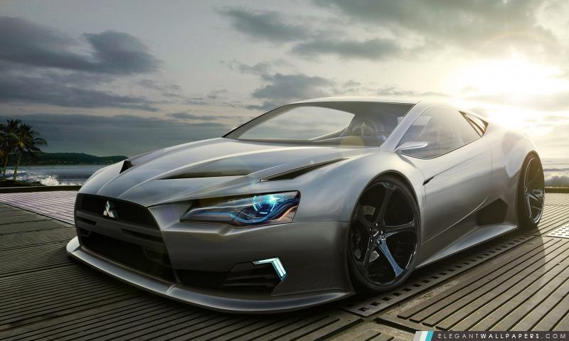 Mitsubishi Concept Car, Arrière-plans HD à télécharger