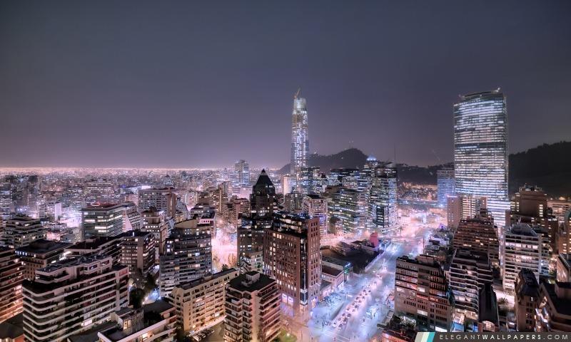 Santiago du Chili HD Las Condes, Arrière-plans HD à télécharger