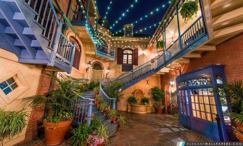 Disneylands Cour des Anges, Arrière-plans HD à télécharger