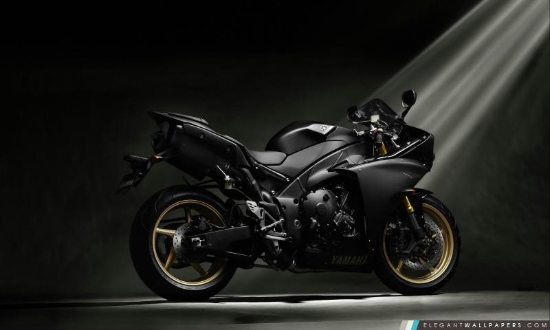 Yamaha YZF-R1 Noir, Arrière-plans HD à télécharger
