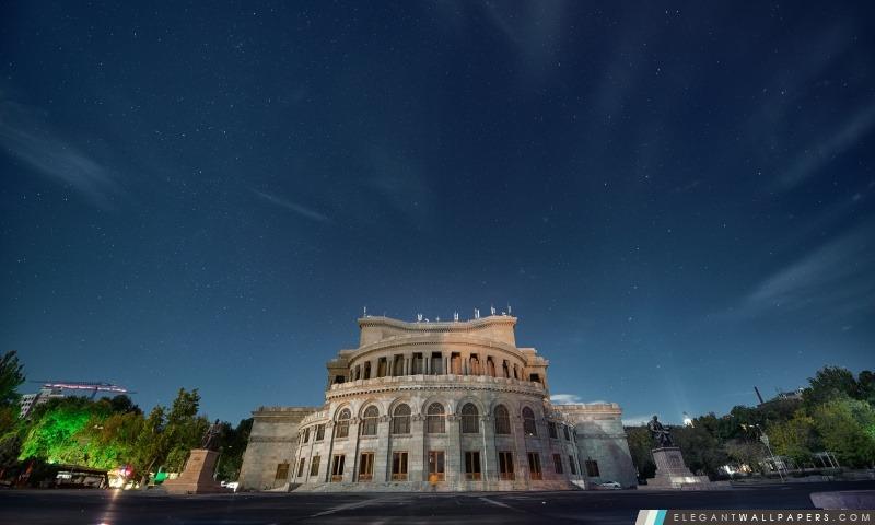 Arménie, Erevan, Construction, Hayk Barseghyans, Arrière-plans HD à télécharger
