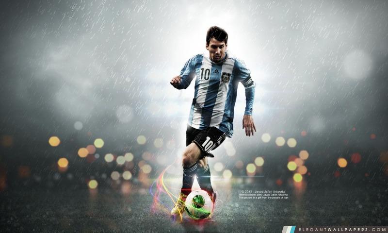 Leo Messi 10, Arrière-plans HD à télécharger