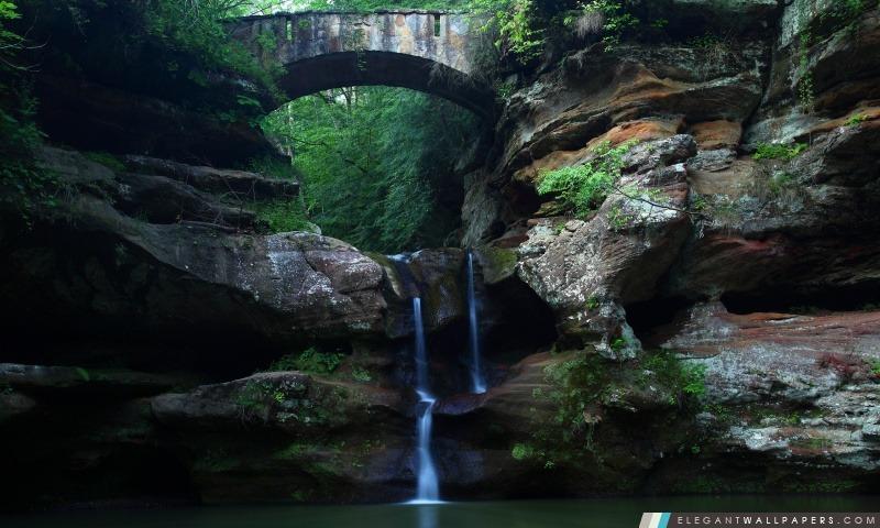 Hidden Pond, Arrière-plans HD à télécharger