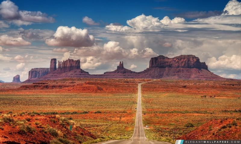 Spectaculaire paysage de désert, Arrière-plans HD à télécharger