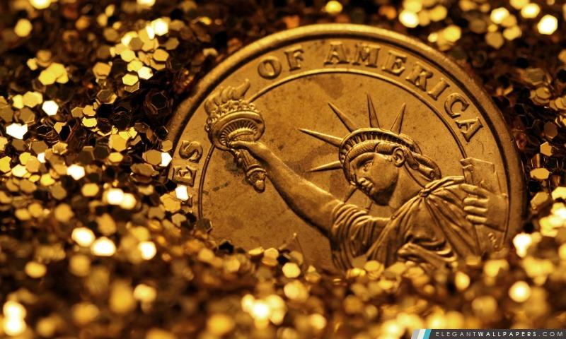 Liberté enterré dans l'or, Arrière-plans HD à télécharger