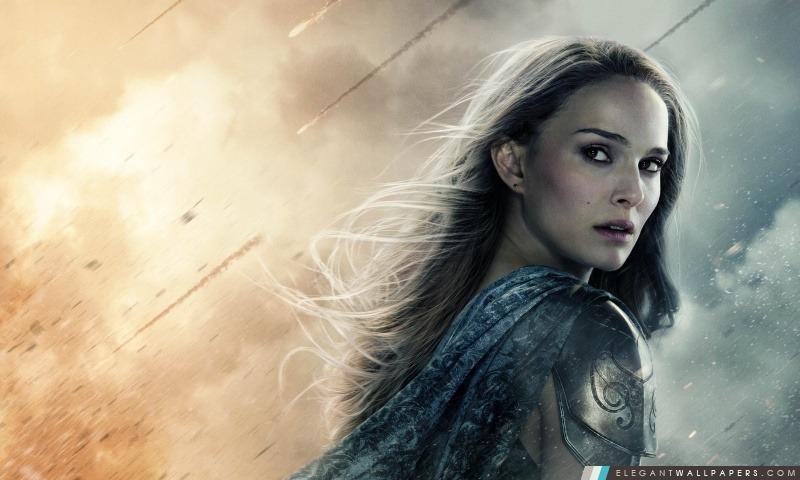 Thor le Monde des Ténèbres Jane Foster, Arrière-plans HD à télécharger