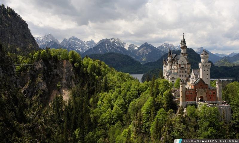 Chateau De Neuschwanstein Fond D Ecran Hd A Telecharger