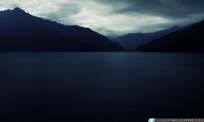 Montagnes sombres, Arrière-plans HD à télécharger