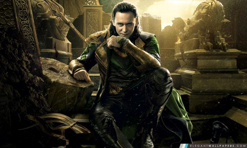Thor 2 The Dark mondiale Loki, Arrière-plans HD à télécharger