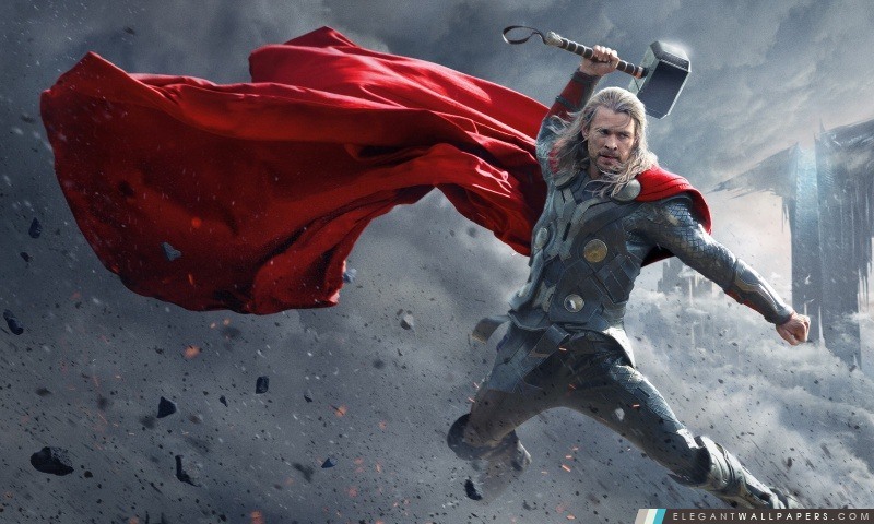2013 Thor The Dark World Wide, Arrière-plans HD à télécharger