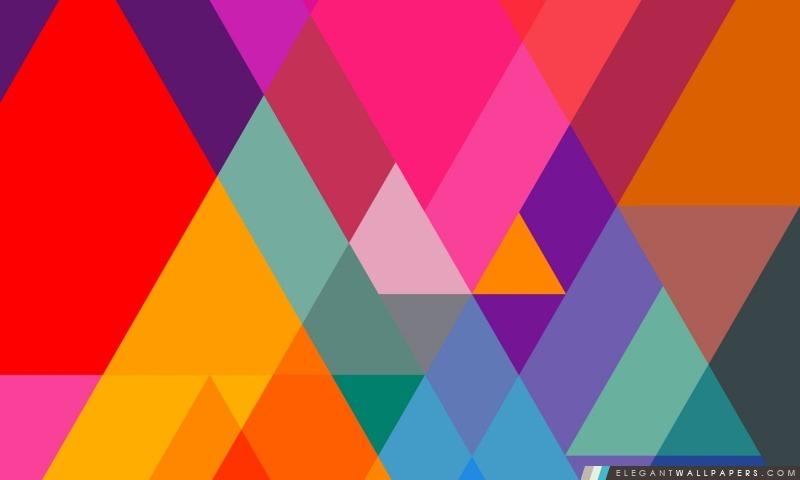 Triangulaire, Arrière-plans HD à télécharger