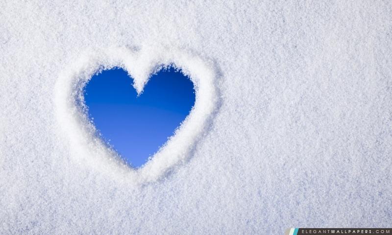 Snow Love, Arrière-plans HD à télécharger