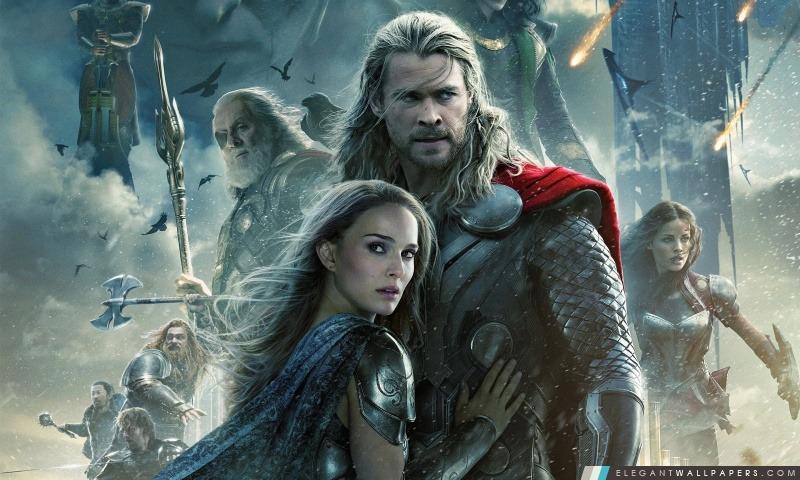Thor le Monde des Ténèbres, Arrière-plans HD à télécharger