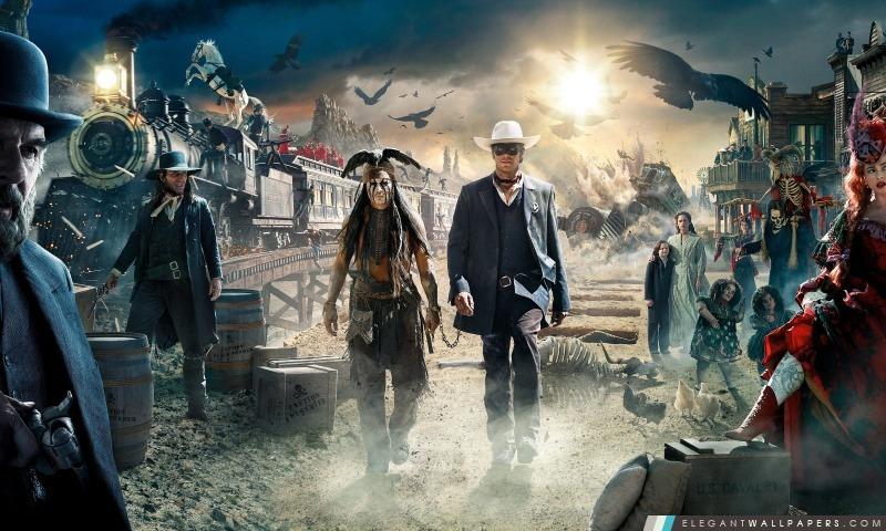 The Lone Ranger Film, Arrière-plans HD à télécharger