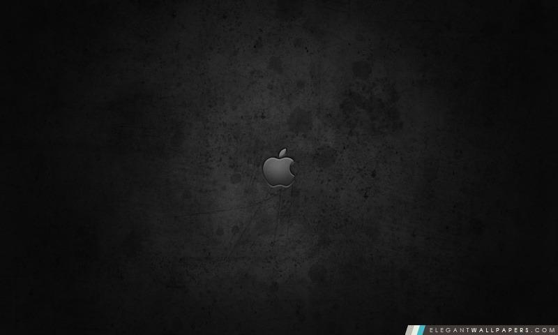Logo d'Apple sur fond foncé, Arrière-plans HD à télécharger