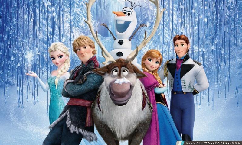 Frozen film de Disney, Arrière-plans HD à télécharger