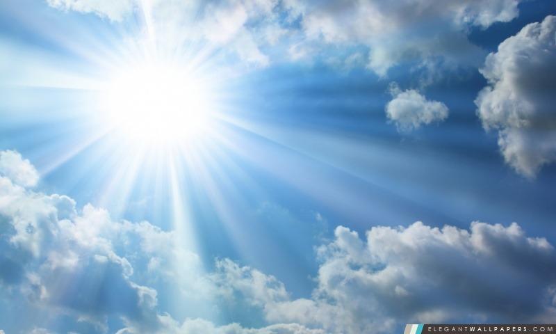 Sun brillant, Arrière-plans HD à télécharger