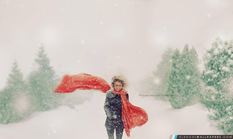 Vacances d'hiver Bonheur, Arrière-plans HD à télécharger