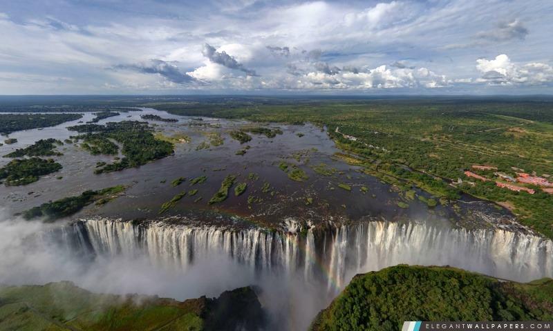 Plus large chute d'eau dans le monde, Arrière-plans HD à télécharger
