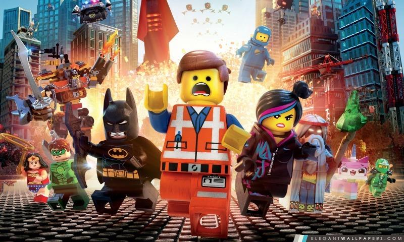 Le film Lego 2014, Arrière-plans HD à télécharger