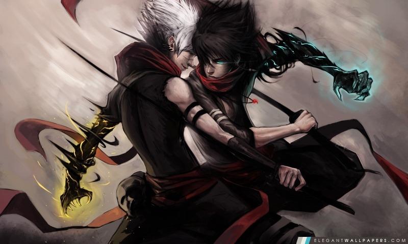 Anime Duel, Arrière-plans HD à télécharger