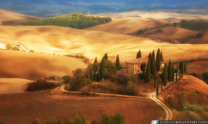 Paysage italien, Arrière-plans HD à télécharger