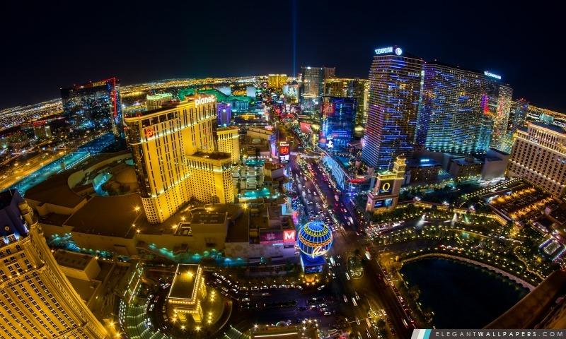 Las Vegas Vue aérienne, Arrière-plans HD à télécharger