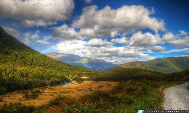 Route de montagne, Arrière-plans HD à télécharger