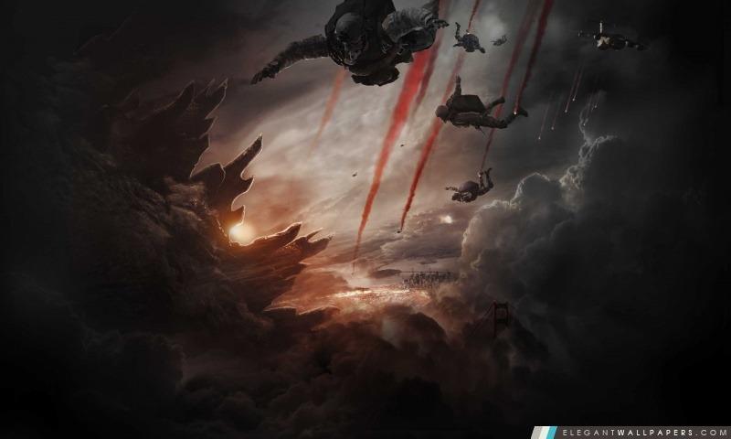 Godzilla 2014 Film, Arrière-plans HD à télécharger
