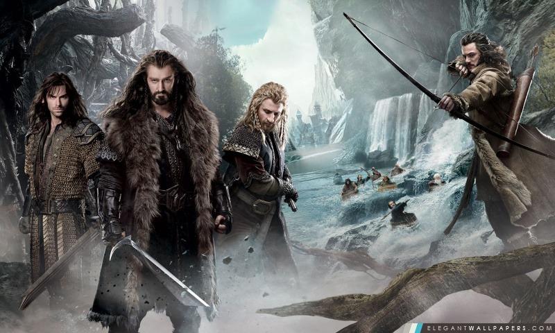 Le Hobbit Un voyage inattendu 2 Nains, Arrière-plans HD à télécharger