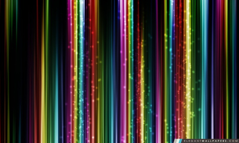 Colorful Thin Lines, Arrière-plans HD à télécharger