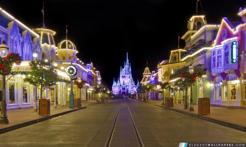 Disney Vacances d'hiver, Arrière-plans HD à télécharger