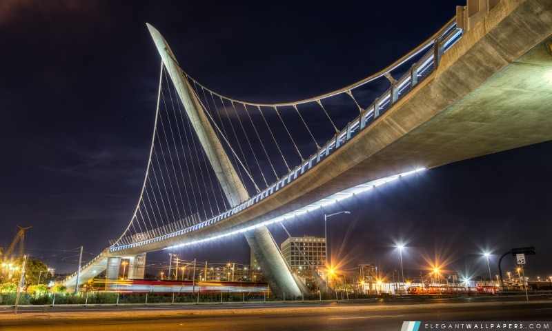 Pedestrian Bridge, Arrière-plans HD à télécharger